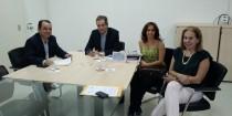 Soego e CROGO se reúnem com secretário de Saúde, Leonardo Vilela.
