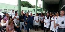 Goiânia: Servidores do Cais Campinhas paralisam atendimento na luta pelo pagamento da data-base.