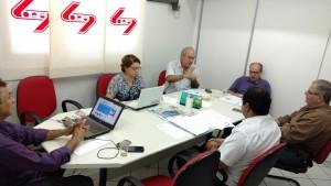 Reunião no Soego em defesa da Odontologia no município de Goiânia.